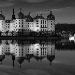Moritzburg-Castle-blackandwhite